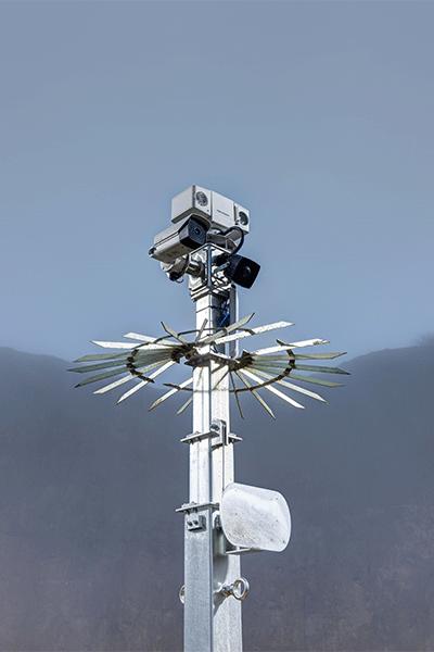 smart tower sur le magasins éphémère